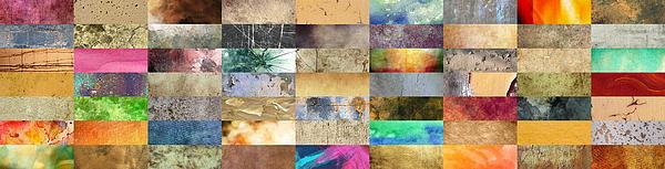 Texture Collage Print by Taylan Soyturk