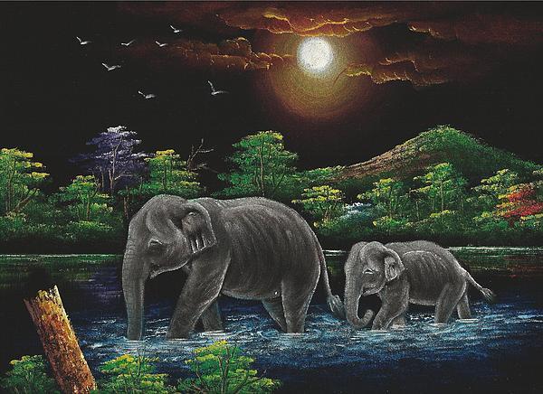 Charles Goh - Thai Elephants
