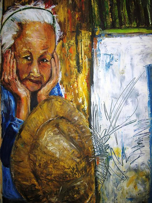 Thai Woman Print by Doris Cohen
