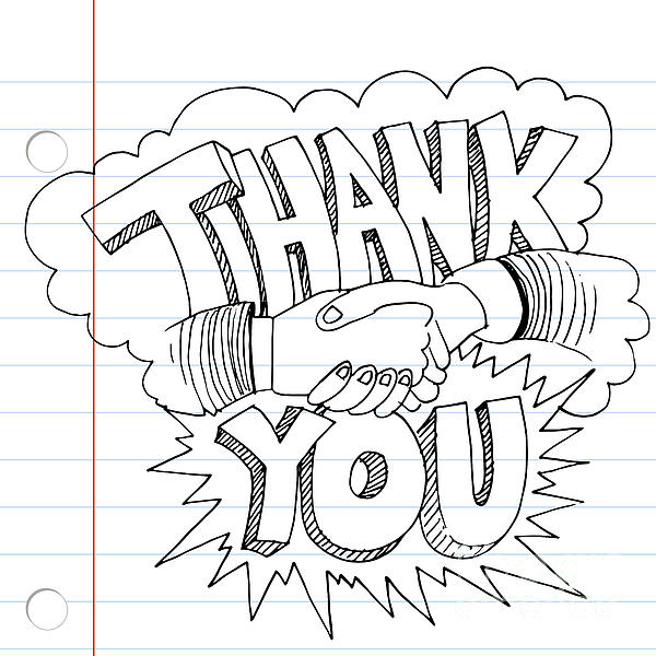 Thank You Handshake By John Takai