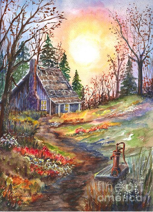 Carol Wisniewski - That Old Home in the Woods
