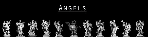 The Angels Of Rome Print by Fabrizio Troiani