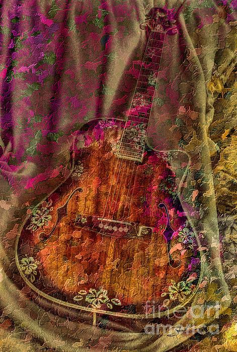The Art Of Music Print by Steven Lebron Langston