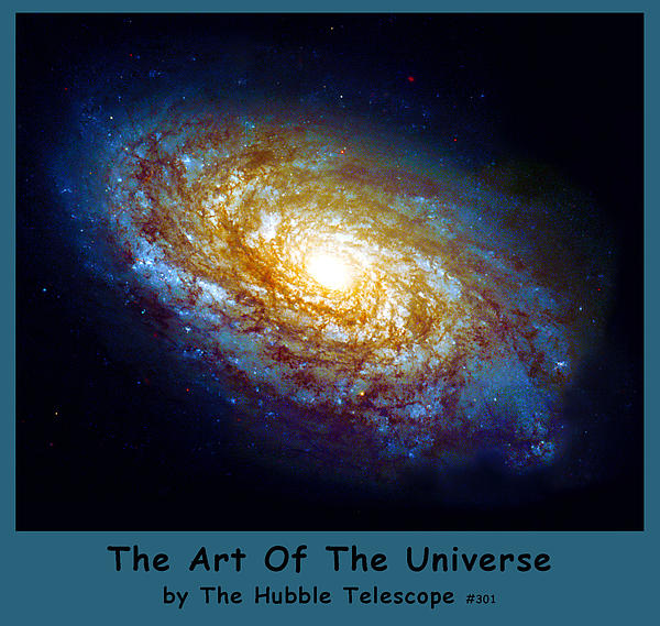 The Art Of The Universe 301 Print by The Hubble Telescope
