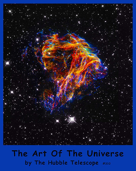 The Art Of The Universe 310 Print by The Hubble Telescope