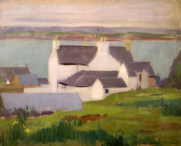 The Artists Studio Iona Print by Francis Campbell Boileau Cadell
