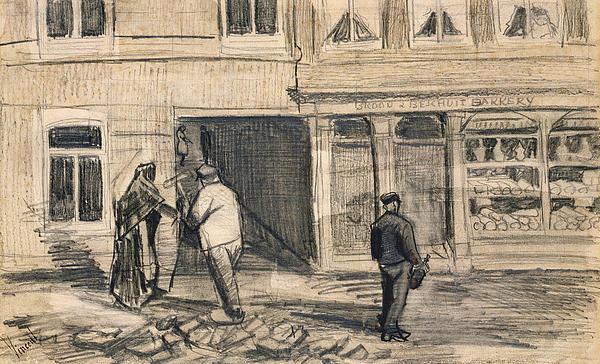 The Bakery In De Geest Print by Vincent Van Gogh