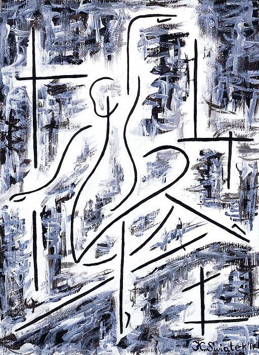 The Ballet Rehearsal Print by Kamil Swiatek