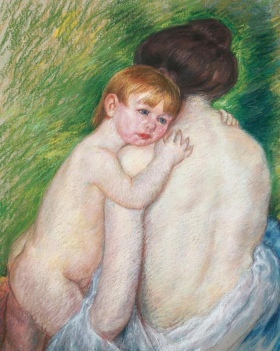 The Bare Back Print by Mary Cassatt Stevenson