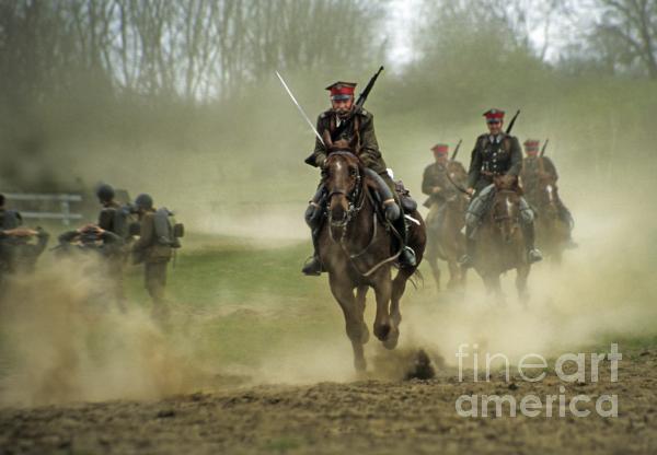 The Battle Print by Angel  Tarantella