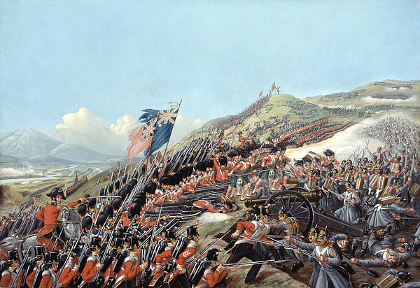 The Battle Of Alma On 20th September Print by Edmund Walker