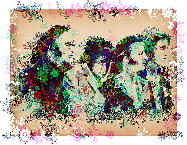 The Beatles 10 Print by MB Art factory