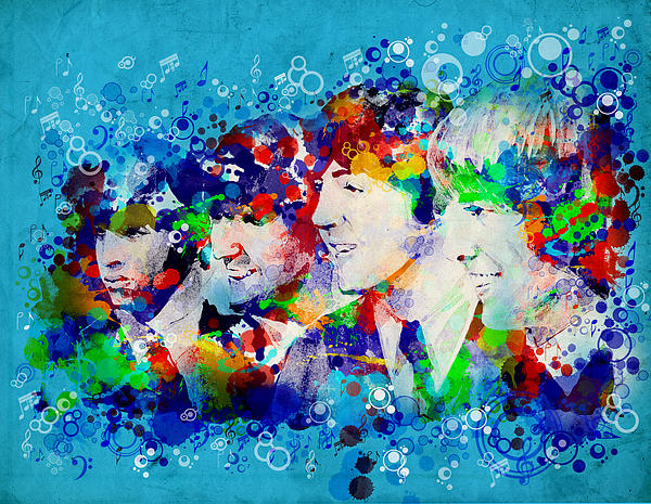 The Beatles 6 Print by MB Art factory