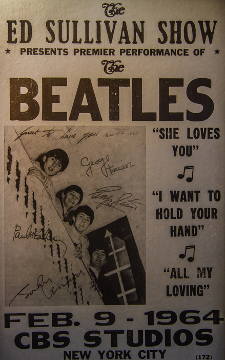 The Beatles Ed Sullivan Show Poster Print by Mitch Shindelbower