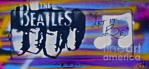 The Beatles Purple Print by Tony B Conscious