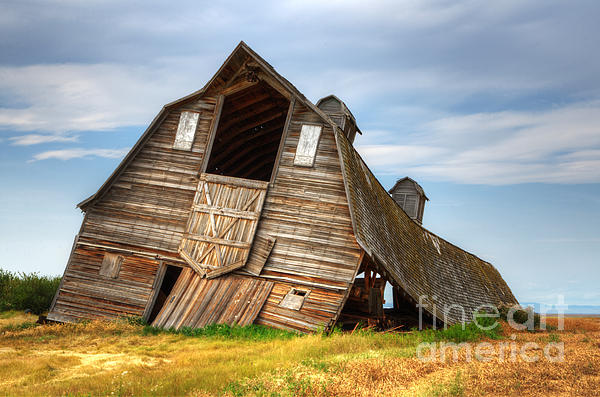 The Beauty Of Barns  Print by Bob Christopher