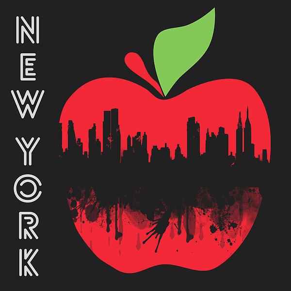 the Big Apple Print by Mark Ashkenazi