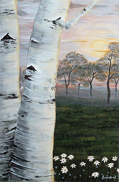 Emine  Basoglu - The Birch Tree