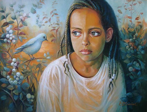 Elena Oleniuc - The bird and the child