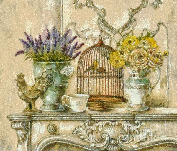 The Birdcage Print by Elizabeth Coats