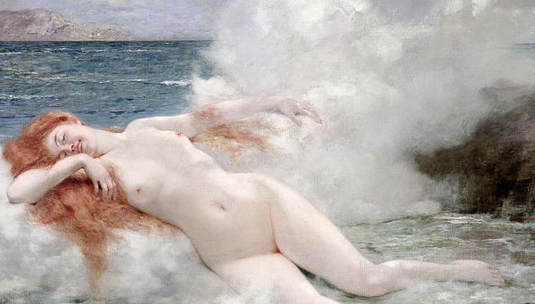 The Birth Of Venus Print by Henri Gervex