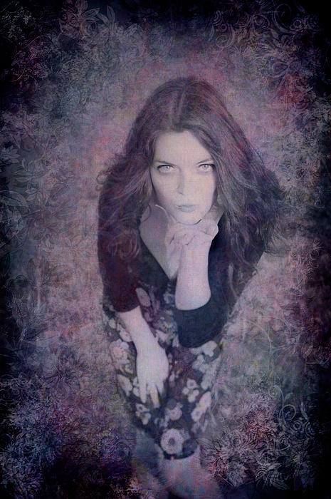 The Blown Kiss Print by Loriental Photography