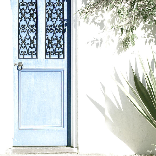 The Blue Door Print by Holly Kempe