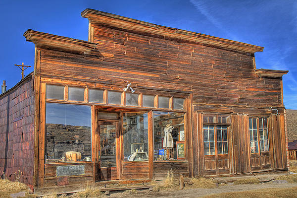 The Boone Store And Warehouse Print by Donna Kennedy