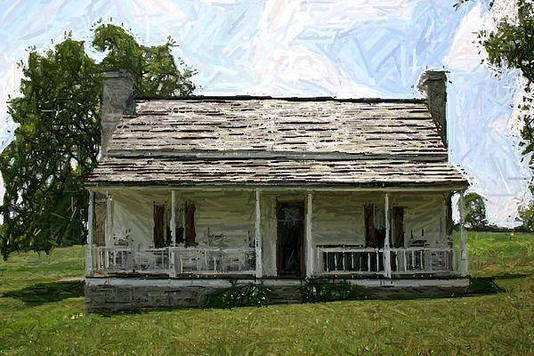 The Bottom House II - Perryville Ky Print by Thia Stover