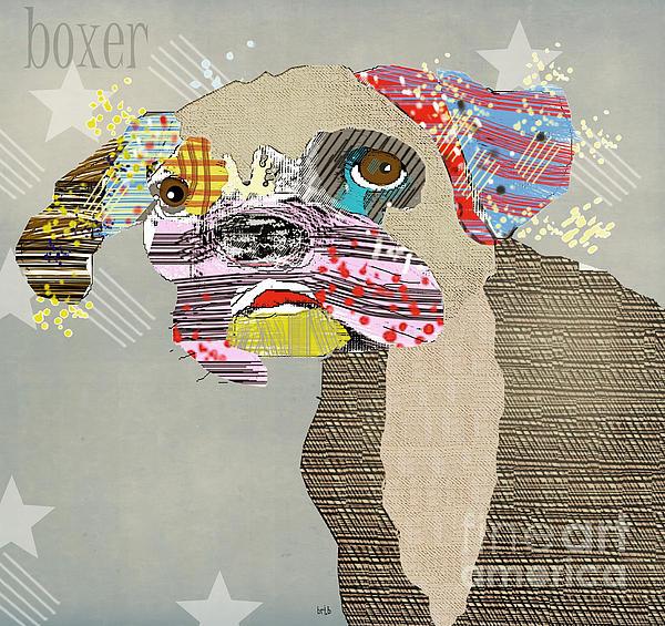 The Boxer Dog Print by Bri Buckley