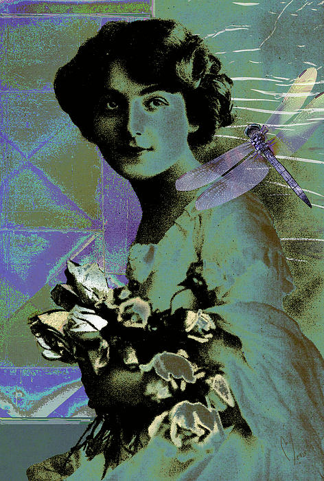 The Breeze Print by Maria Jesus Hernandez