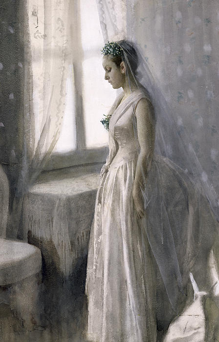 The Bride Print by Anders Leonard Zorn