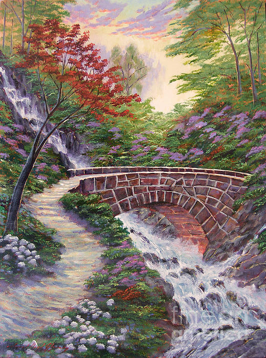 The Bridge Across Print by David Lloyd Glover