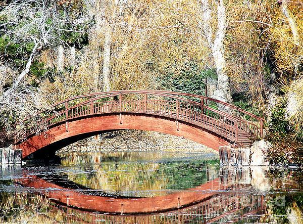 The Bridge Print by Tom Riggs