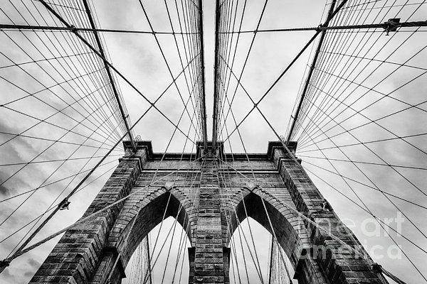The Brooklyn Bridge Print by John Farnan