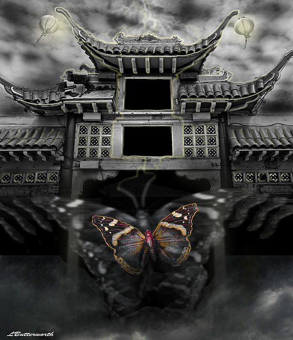 The Butterfly Effect Print by Larry Butterworth