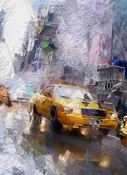 The Cab  Print by Stefan Kuhn