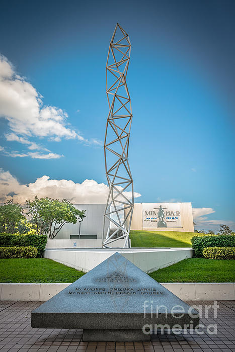 The Challenger Memorial 2 - Bayfront Park - Miami Print by Ian Monk