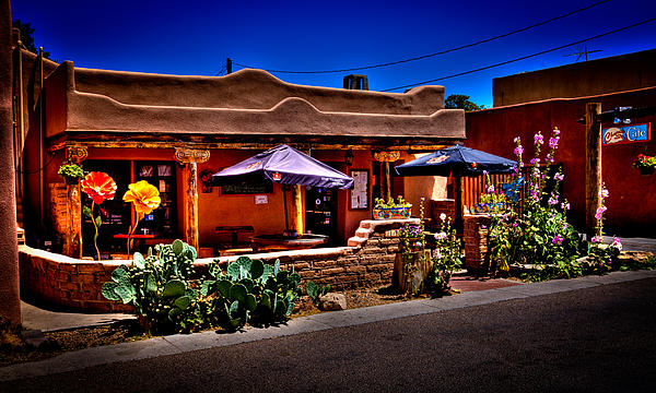 The Church Street Cafe - Albuquerque New Mexico Print by David Patterson