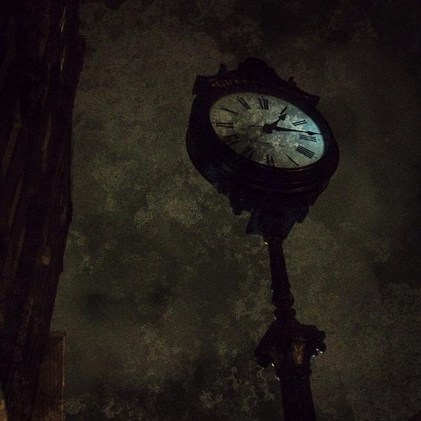The Clock Of Greenpoint Print by Natasha Marco