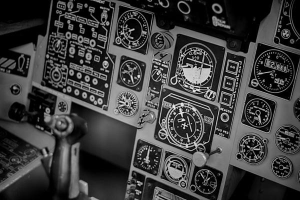 The Cockpit  Print by Douglas Barnard