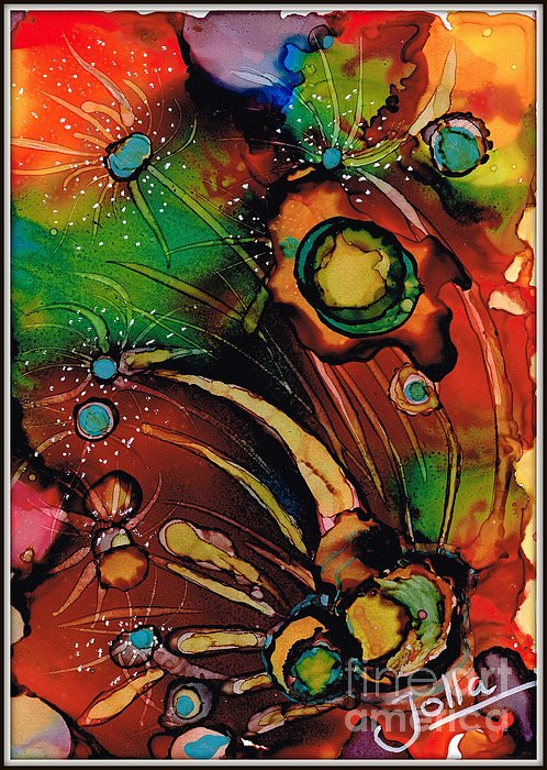 The Colours Of My Mind.. Print by Jolanta Anna Karolska