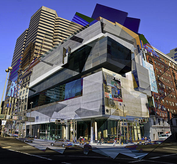 The Contemporary Arts Center Print by Scott Meyer