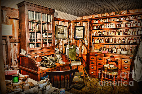 The Country Doctor Print by Paul Ward