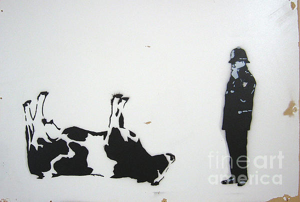 The Cow Print by Bela Manson