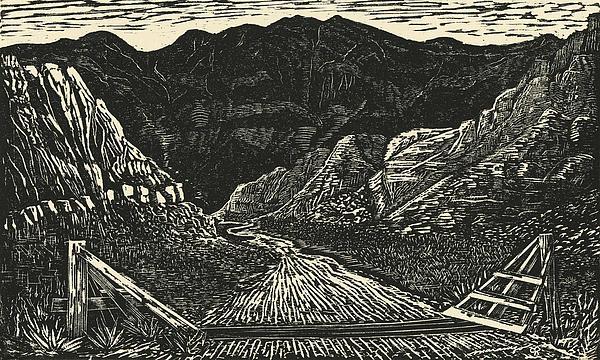 The Crossing Print by Maria Arango