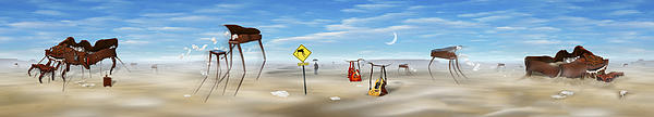 The Crossing Panorama Print by Mike McGlothlen