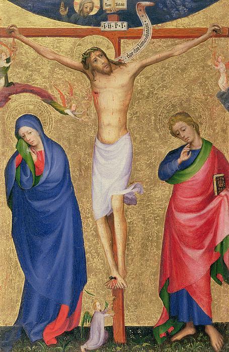 The Crucifixion Print by Dutch School
