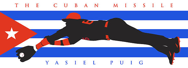 The Cuban Missile Print by Ron Regalado