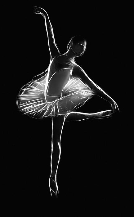The Dancer Print by Stefan Kuhn